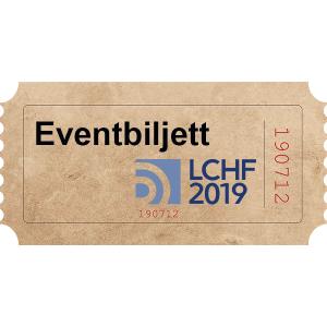 Eventbiljett LCHF2019